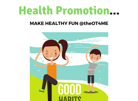 I've never heard about OT for health promotion...