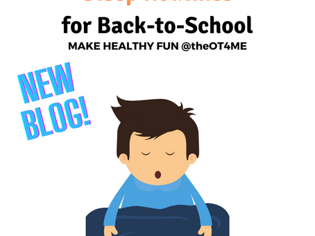 Sleep Routines for Back-to-School