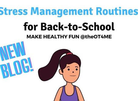 Stress Management Routines for Back-to-School