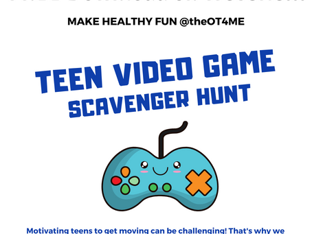 Teen Video Game Scavenger Hunt