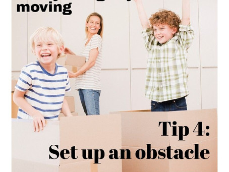 """Set up an obstacle course - Post 4/5 of the """"Get Your Kids Moving"""" Series"""