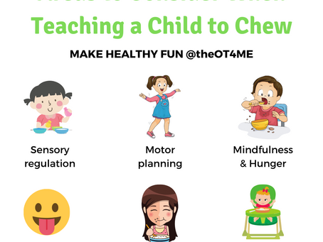 How to Teach a Child to Chew Food