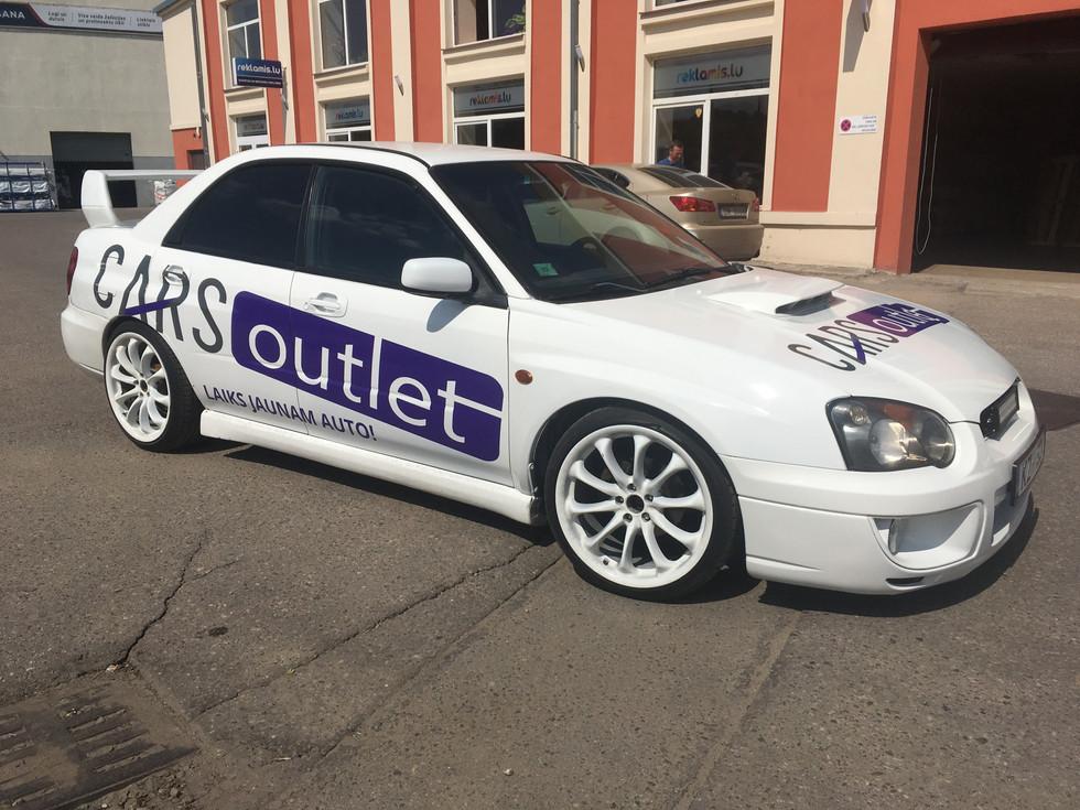 Vieglā transporta aplīmēšana - Cars Outlet
