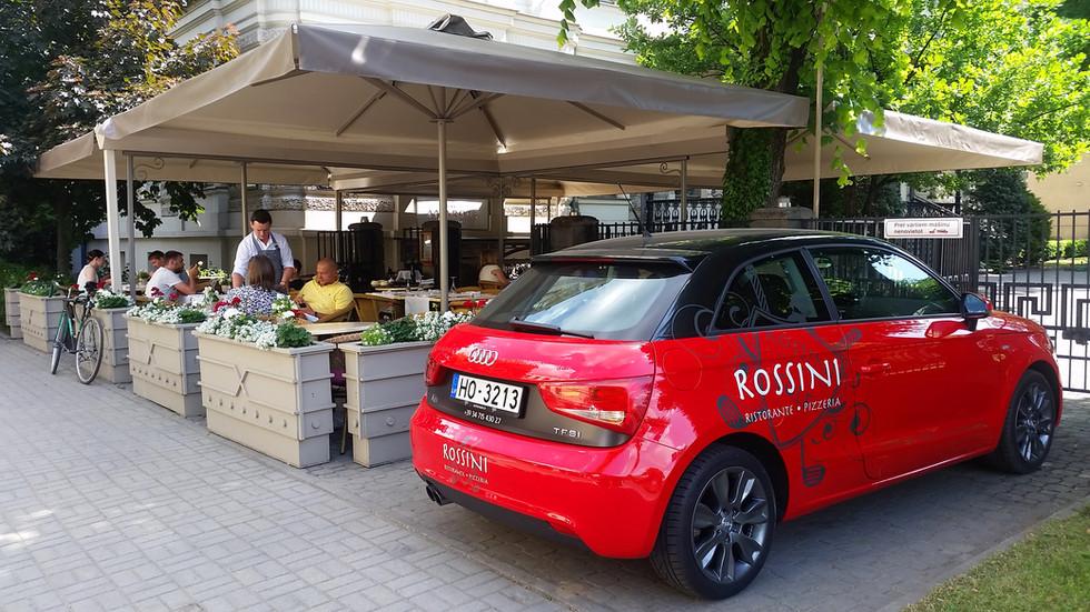 Vieglā auto aplīmēšana - Rossini