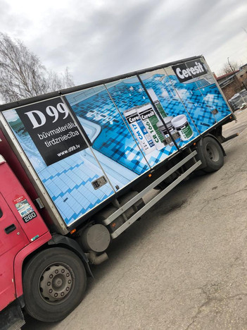 Kravas transporta aplīmēšana - D99