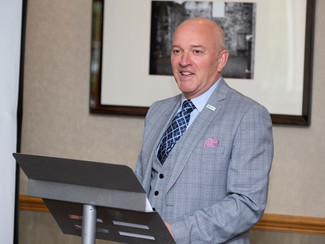 Kevin Griffin re-elected as President at AGM