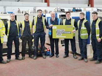 Future looks bright at Scottish Apprenticeship Week