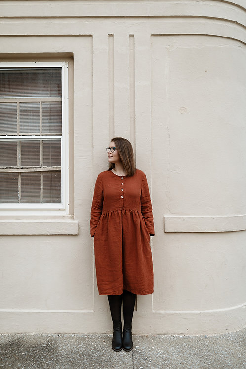 AARO SMOCK | BUTTONED