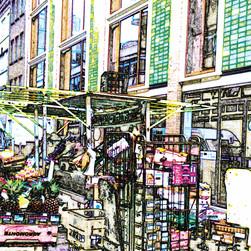 soho market stall, 2010