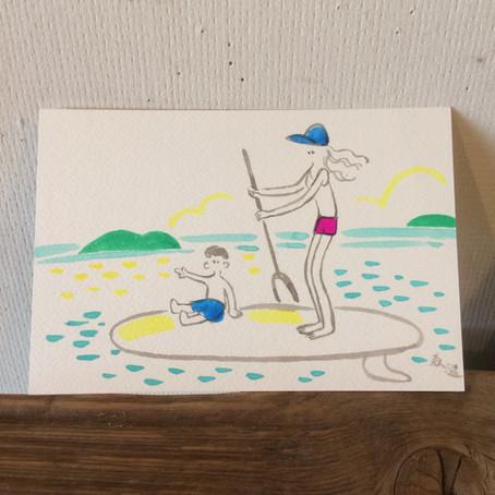 7/22 二人展「2 to the sea」無事終了〜