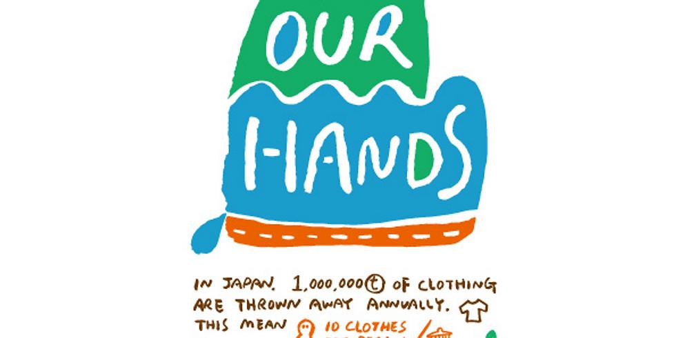 """11月24日(日) BURIKI MARKET """"BY OUR HANDS""""アップサイクルワークショップ"""