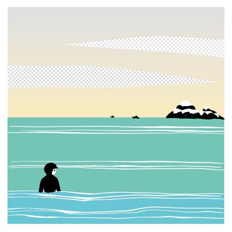 海は好きですか?