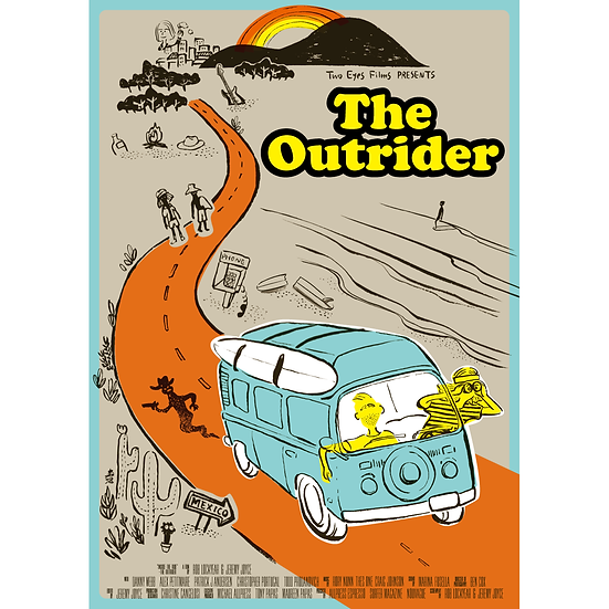 「The Outrider」映画オリジナルポスター/ Original Movie Poster