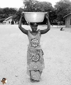 Ghanaian woman