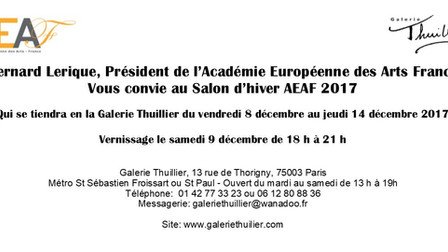 Salon d'Hiver AEAF Exposition 2017