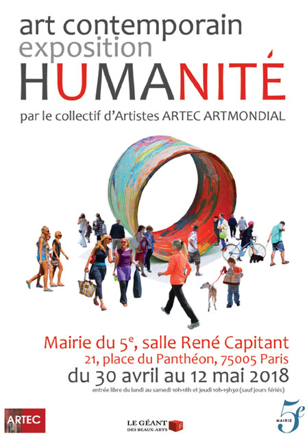EXPO HUMANITE Mairie du 5e PARIS