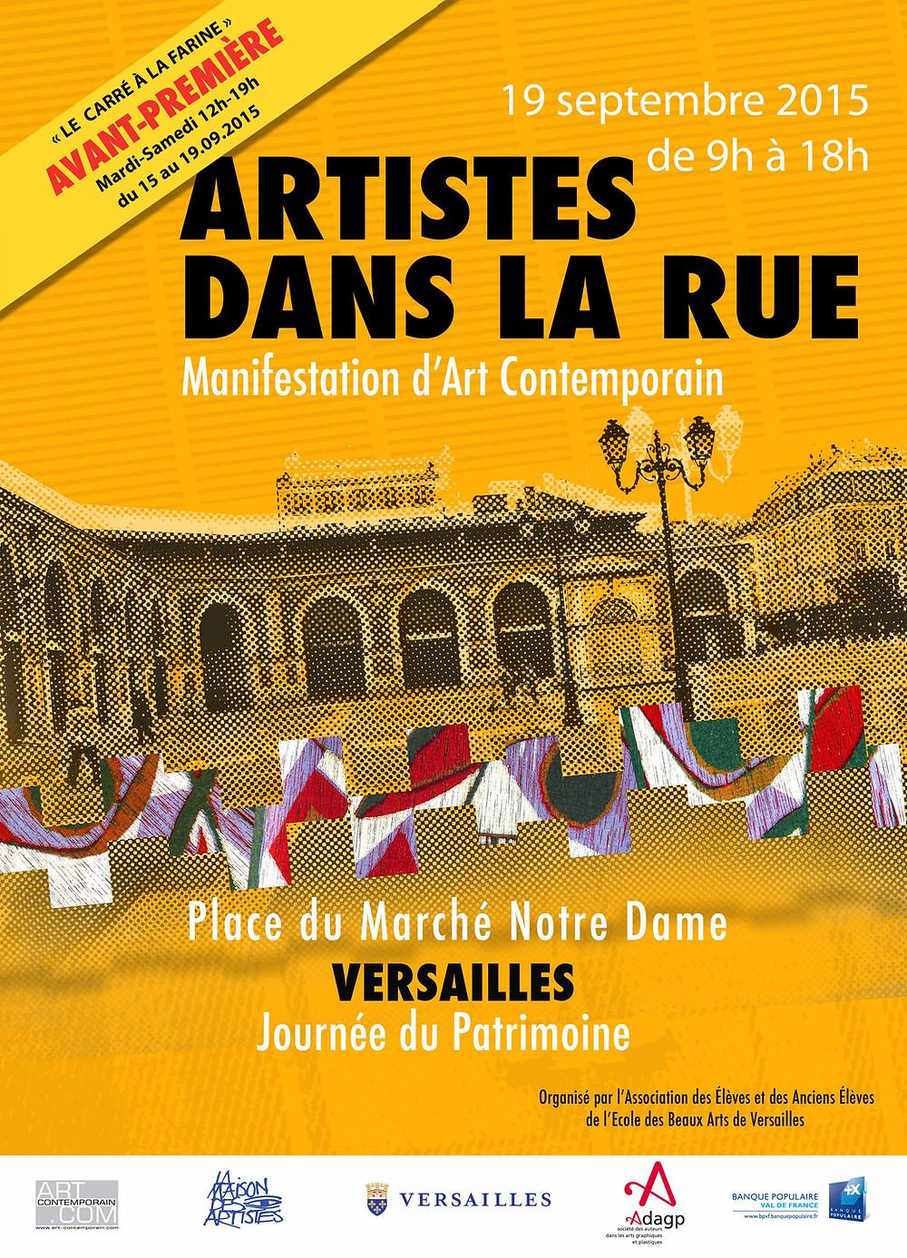 Journée du Patrimoine Manifestation D'Art Contemporain à versailles