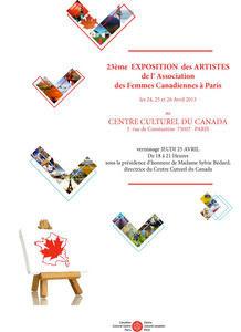 Exposition au Centre Culturel Canadien
