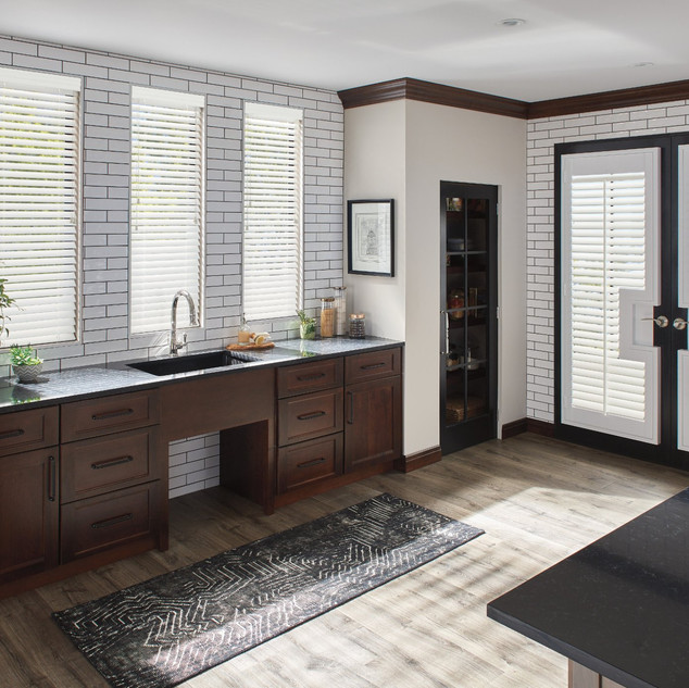 Composite Shutters with Custom Cut-out