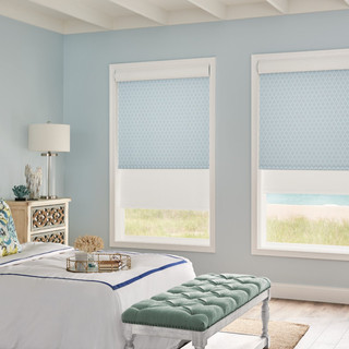 Dual Roller and Solar Shades with Motori