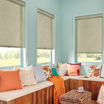 Solar Shade Control Wrapped Valance with