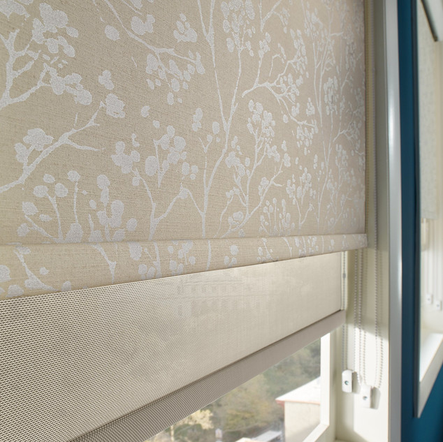 Dual Roller and Solar Shades 2