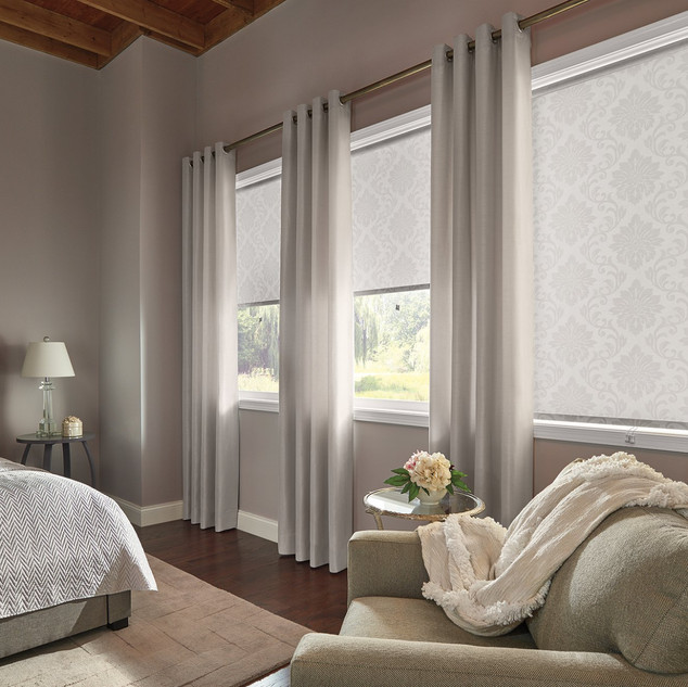 Roller Shades with Cordless Lift 2