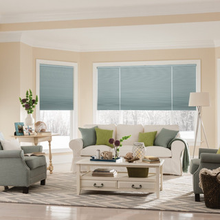Double Cell Cellular Shades with Cordles