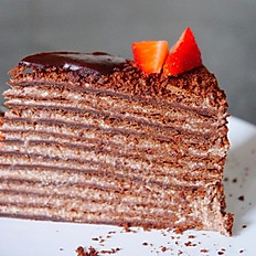 Strawberry chocolate napoleon