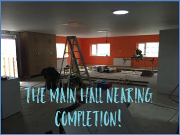 The new main hall