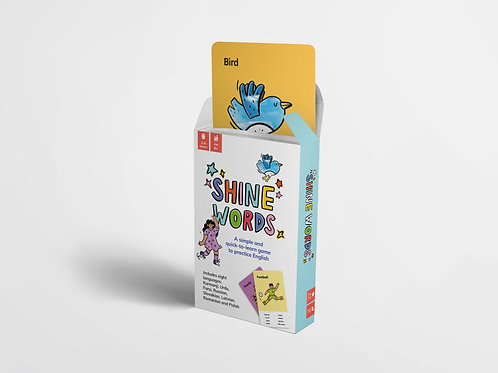 Shine Words Card Game