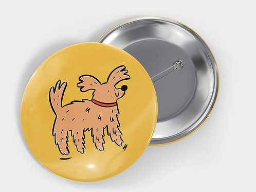 Dog Pin Badge