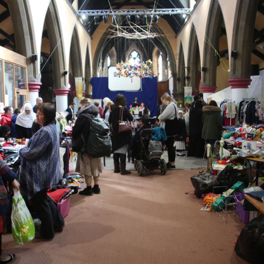 JUMBLE SALE AT ST.STEPHANS 8TH OF APRIL FUNDRAISING FOR WARM THE HEART  (44)