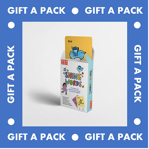 Gift a pack: Shine Words Game