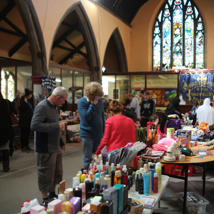 JUMBLE SALE AT ST.STEPHANS 8TH OF APRIL FUNDRAISING FOR WARM THE HEART  (1)