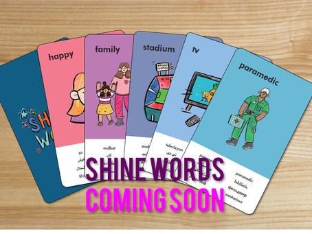 Shine Words is coming