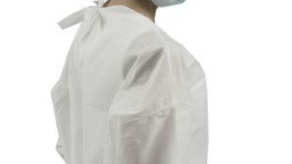 Bata reutilizável, 100% impermeável, material certificado