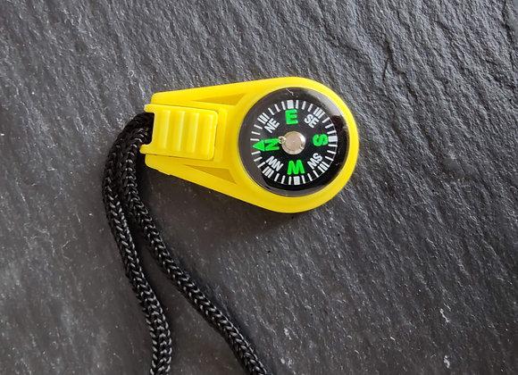 Kompass-Reissverschlusszug