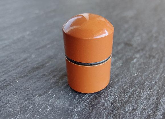 Nano Cachebehälter braun, magnetisch