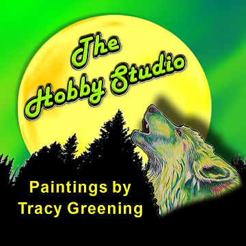 The Hobby Studio Paintings by Tracy