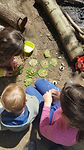 Food for fairies forest school free play