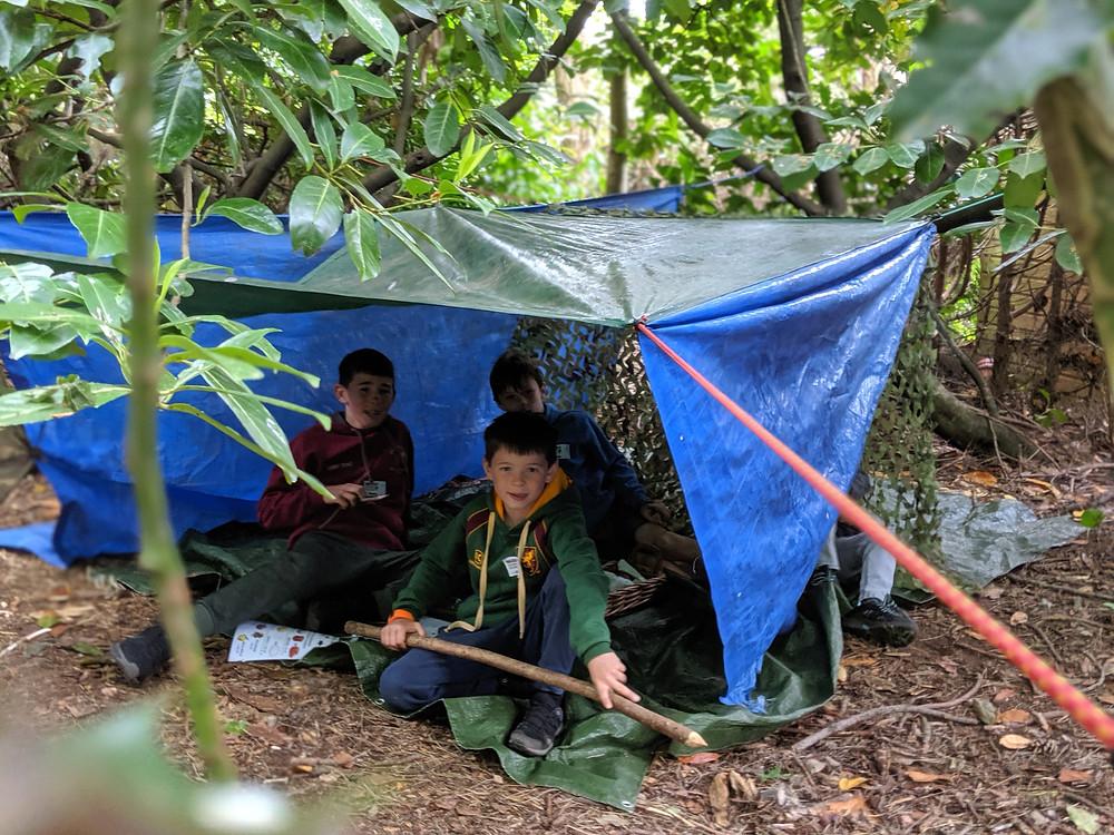 Wildcraft Adventure Shelter Building