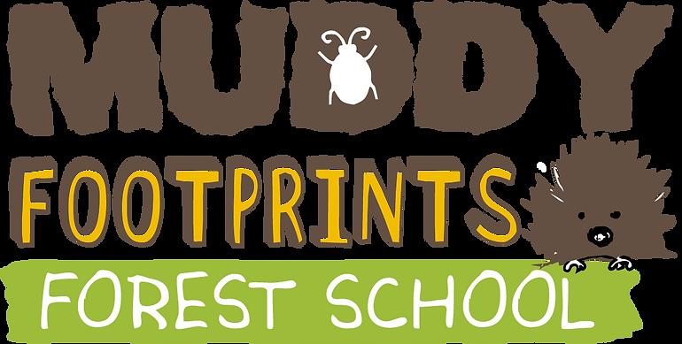Muddy Footprints Forest School In Rugby Logo