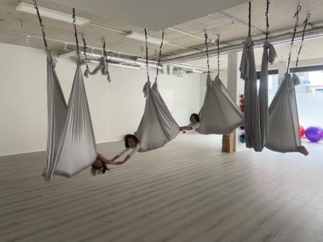 NEU: Aerial Yoga Kids (ab 9J) jede Donnerstag um 17:30-18:30