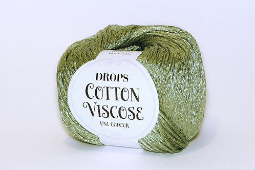 DROPS COTTON VISCOSE 11 khaki green