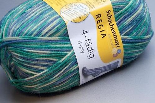 Regia 4-fädig Metropole Color 4493 scarf color
