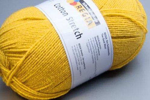 Regia 4-fädig Cotton Stretch 3043 curry 100g