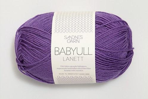 SANDNES GARN Babyull Lannett LILLA 5226