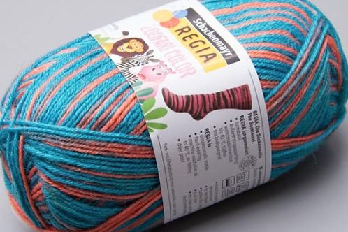 Regia 4-fädig Zoofari Color 5867 50g