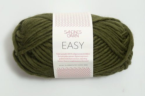 SANDNES GARN EASY  MOSEGRONN 9573